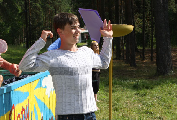 Дмитрий Ильиных - самый спортивный смены.