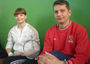 Уфимские спортсмены Наталия Семёнова и Сергей Макин.
