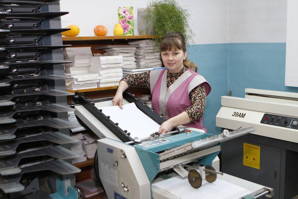 Как печатают открытки в типографии 86