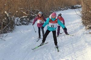 Для многих маленьких камышловцев этот старт стал первым в лыжных гонках.