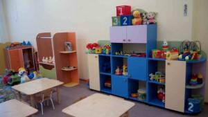 В «Улыбке» светлые и просторные группы,  в которых много ярких игрушек.
