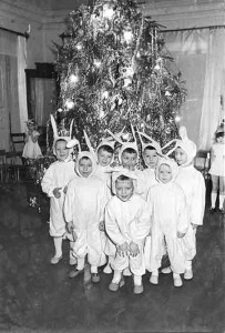 70-е годы. Праздник в детском саду № 2.
