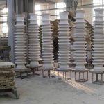 Самый востребованный вид продукции завода – крупногабаритные изоляторы (от 0,5 м и выше).