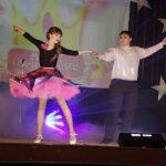 Евгения Протопопова и Руслан Мухтаров исполнили танец рок-н-ролл.