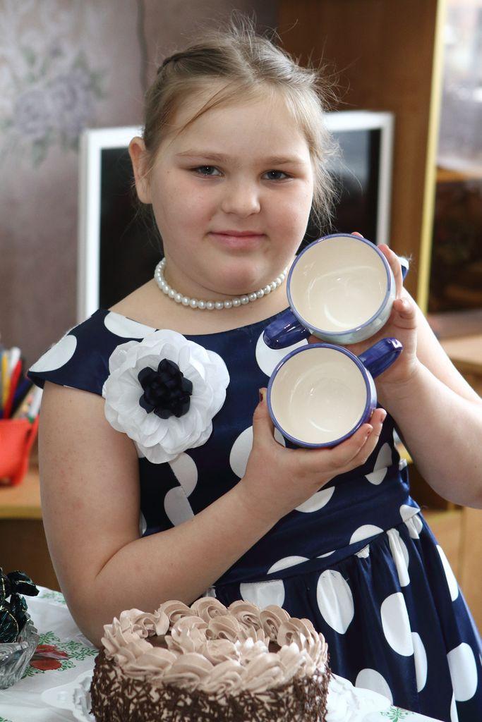 Ярослава Шабалина родилась 8 марта и сегодня ей исполнится 8 лет.
