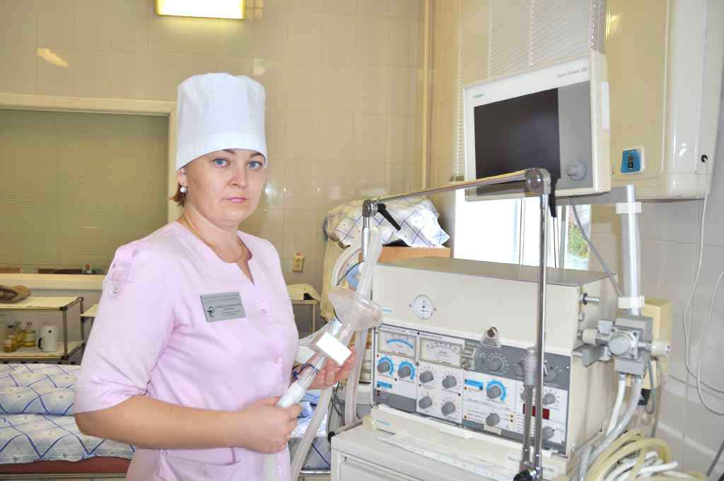 медицинская сестра-анестезист Кочнева Ю.В.