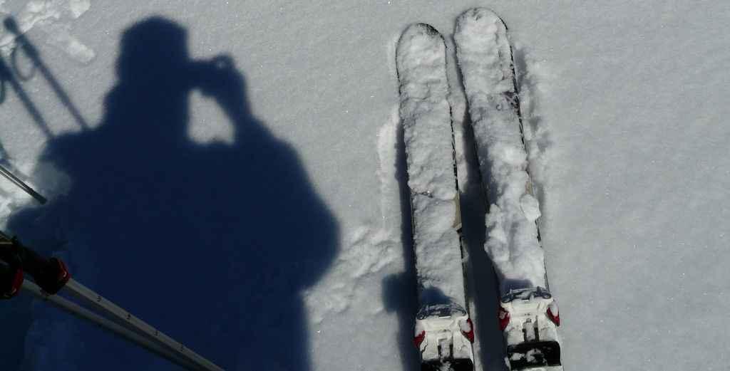 Селфи на лыжне