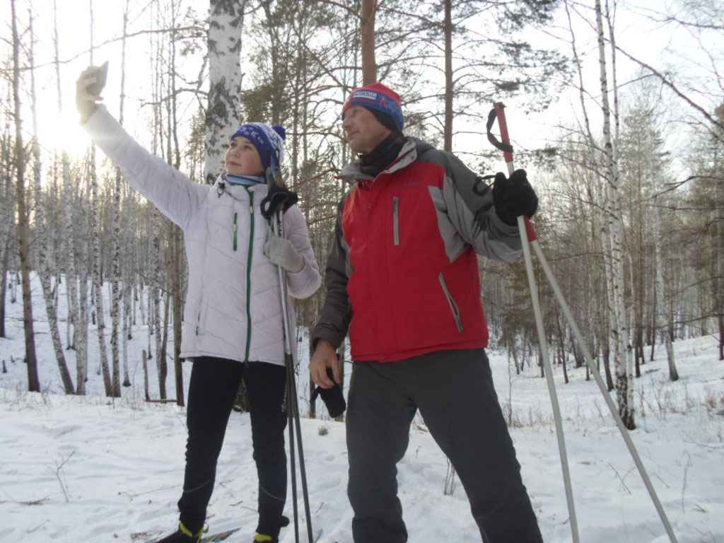 4 февраля 2018 г. «Увалы» в двух километрах от села Захаровского. Специально для конкурса, автор снимка – Ольга Петкина.