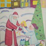 Рисунок Екатерины Качусовой, 5-й класс, школа № 1.