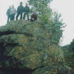 Азов-гора близ Полевского, где туристы побывали осенью 2011 года, вдохновляла Павла Бажова.