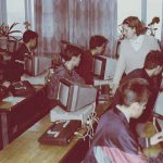 В кабинетах информатики появились первые в Камышлове ЭВМ «Корвет».