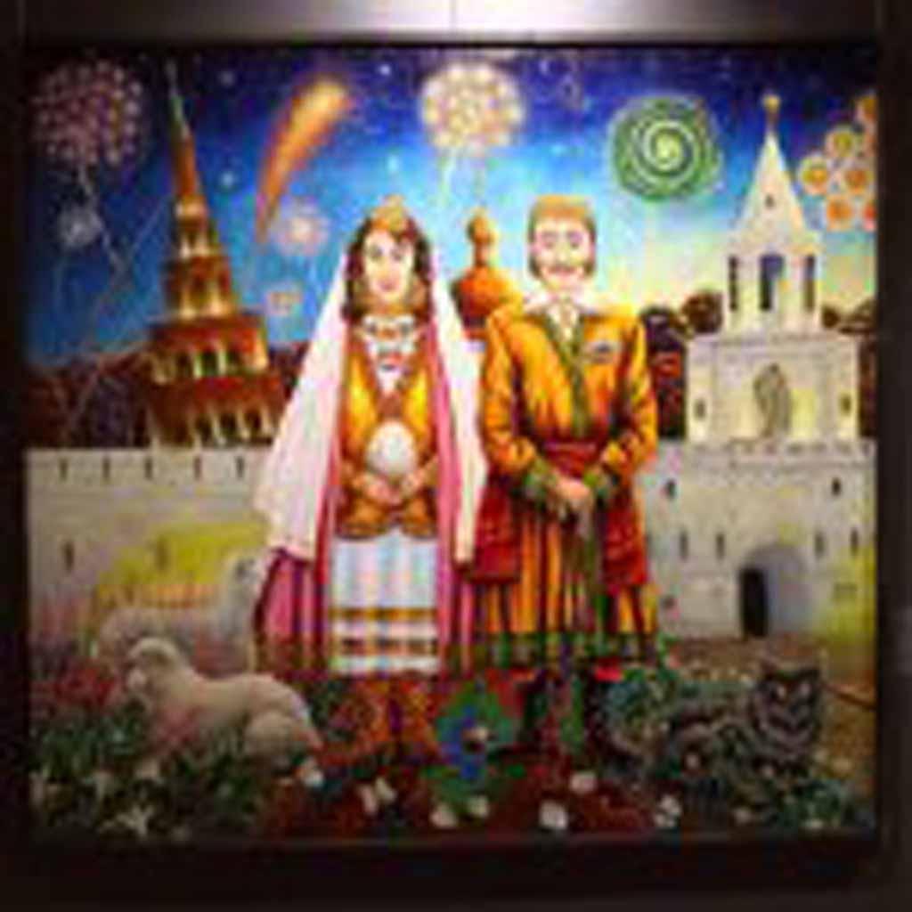 Привычка жениться. Свадьба Сальвадора Дали и Галы (Елены Дьяконовой, уроженки Казани) в Казани.