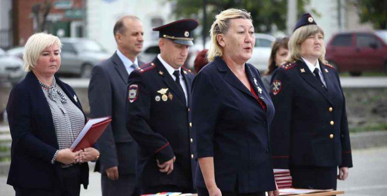 100 лет Камышловской милиции