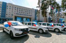 В ФАПах посёлка Восход и деревни Баранниковой появились новые автомобили