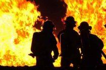 Пожар в Никольском