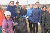 Очищаем от мусора родную деревню!
