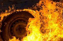 Сгорели автомобили
