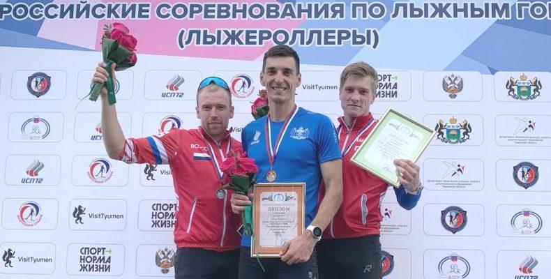 Евгений Белов – победитель индивидуальной гонки классическим стилем