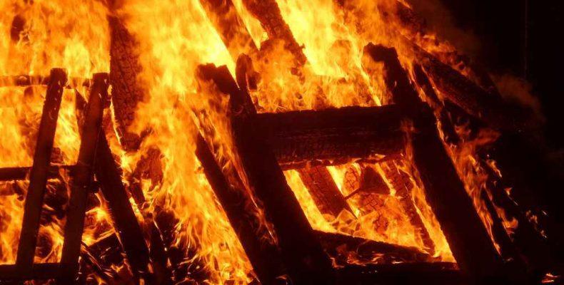 Три возгорания за сутки