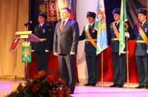 Юбилей отмечает не только город, но герб и флаг Камышлова