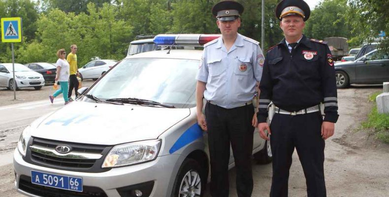На страже дорожного порядка