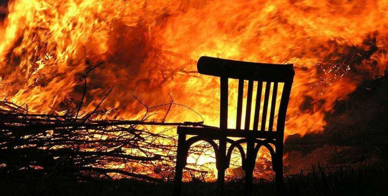 Три пожара за трое суток