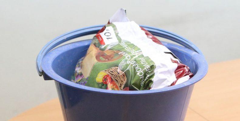 Секрет литра грунта