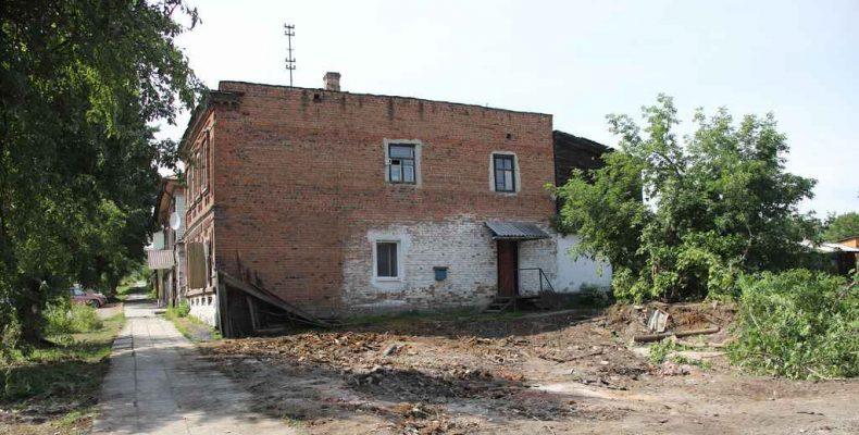 На месте развалин появятся дома