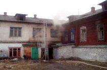 Пожар в расселённом доме