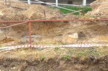 Закопали котлован