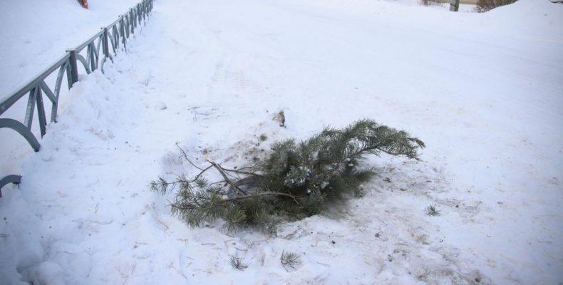 Снег вывезли – крышку сломали