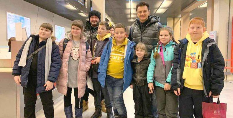 В Москву на телесъёмки