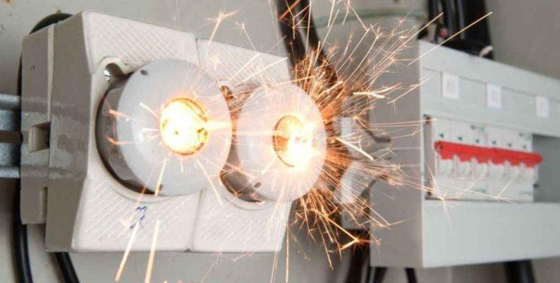 Сгорели электроприборы