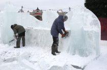 Ледяной «маасдам»