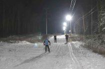 Свет на лыжне