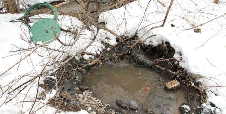 И вновь канализация