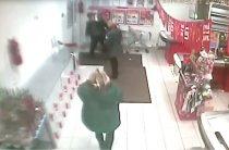 Драка в магазине (видео)