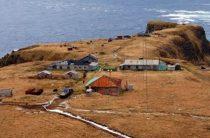 Застава на острове Уруп