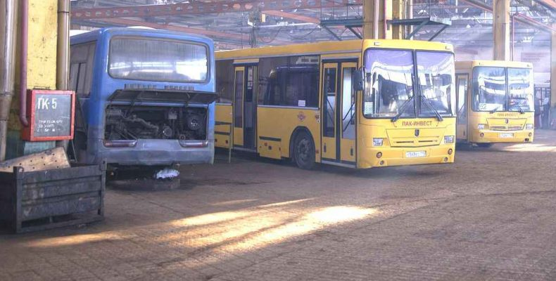 Проверяют автобусы