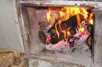 Неисправность печи обернулась пожаром