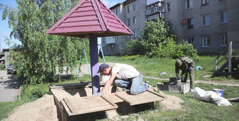 Жильцы выбирают детские площадки