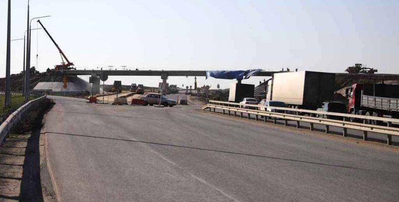 Реконструкция участка трассы Екатеринбург-Тюмень близится к завершению (фото)
