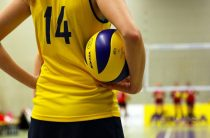 Весенний волейбол