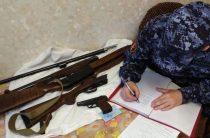 Изъято 31 огнестрельное оружие